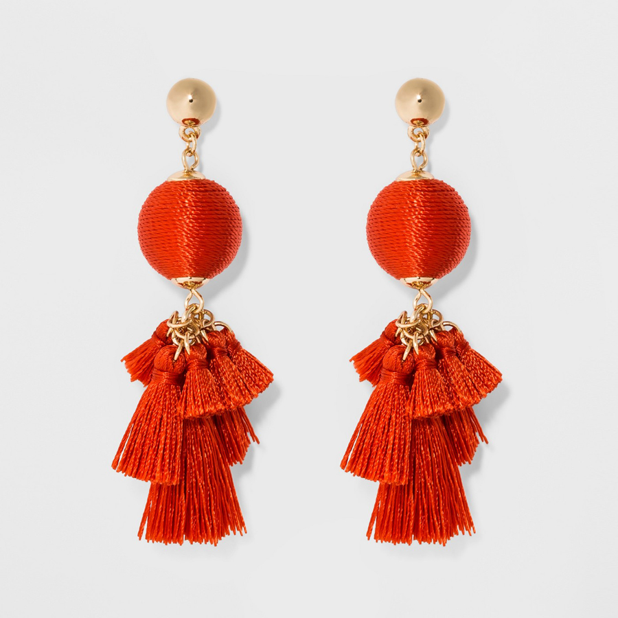 Affordable earrings from BaubleBar's Target collection are