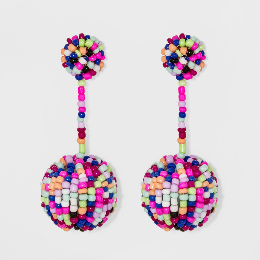 SUGARFIX by BaubleBar at Target: Beaded Ball Drop Earrings