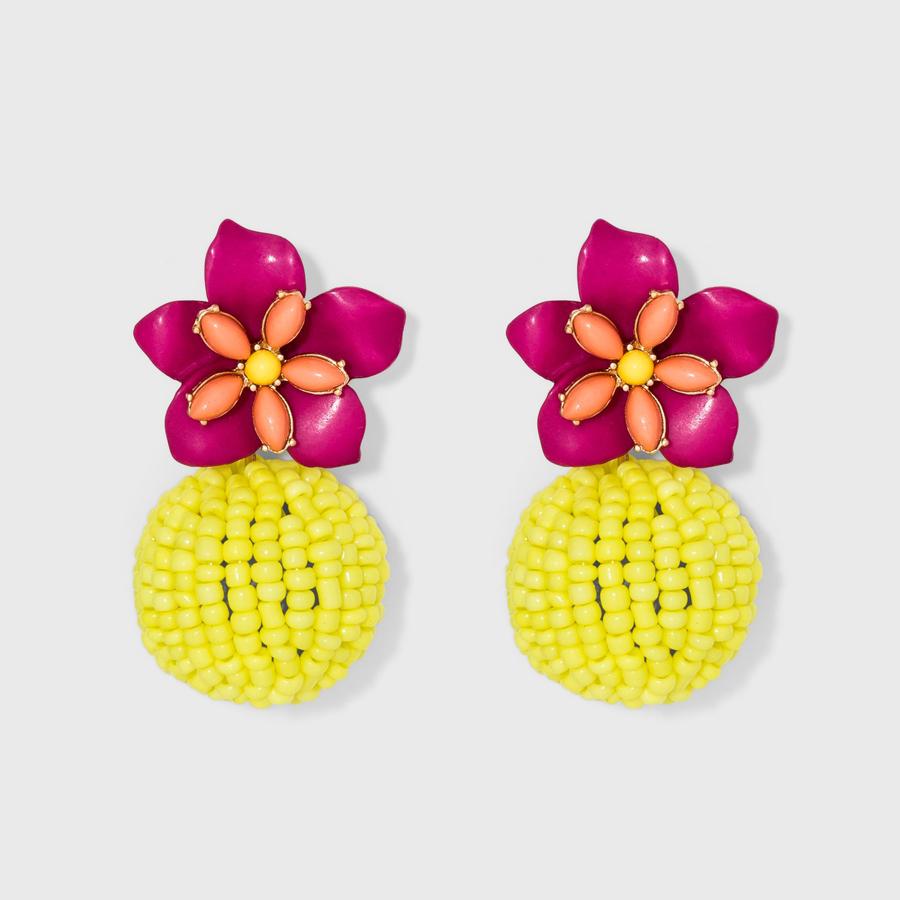 SUGARFIX by BaubleBar at Target: Beaded Floral Drop Earrings