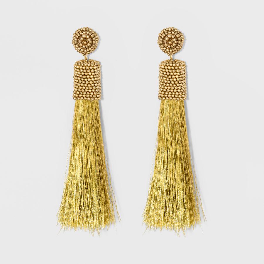 SUGARFIX by BaubleBar at Target: Gold Tassel Drop Earrings
