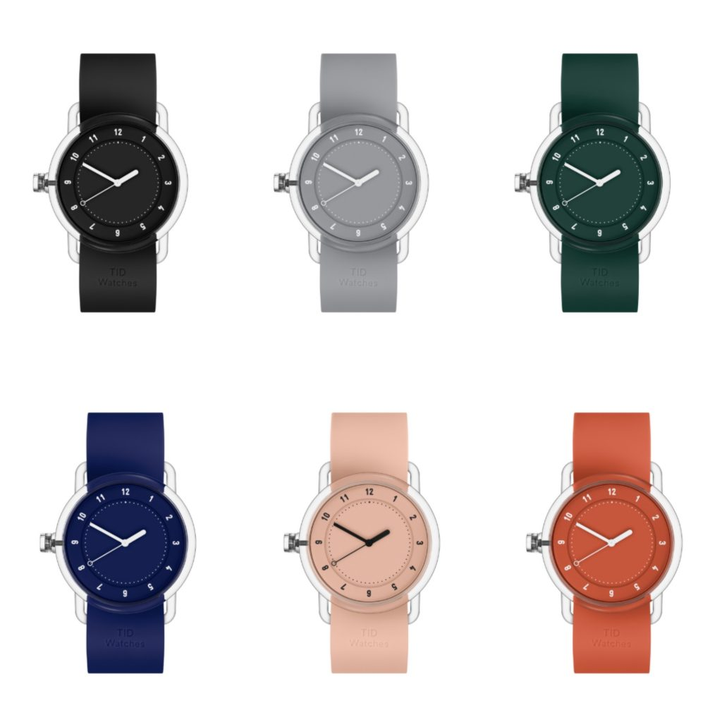 Minimalist TID Watch #3 in lots of cool colors: Creative Father's Day gifts for the man who has everything