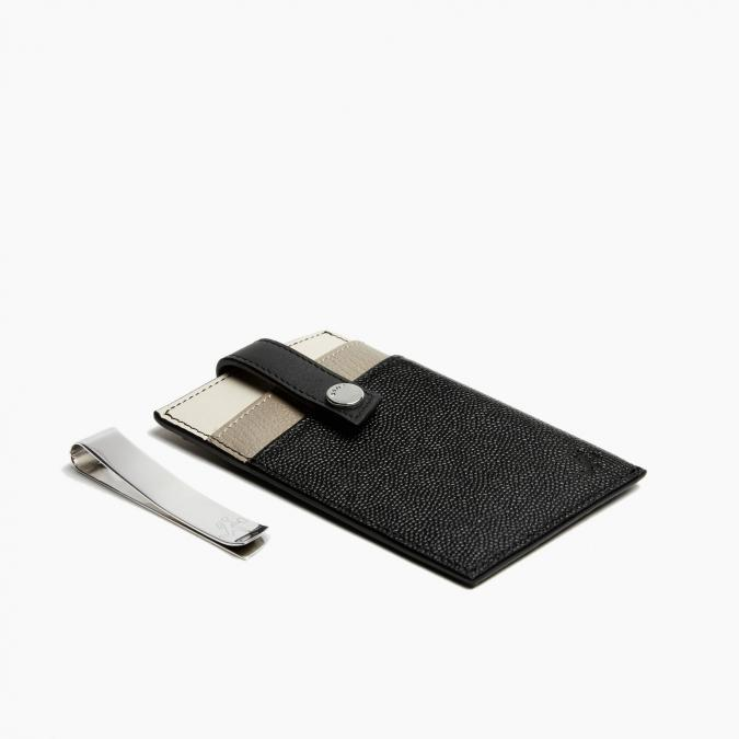 Leather Money Clip Wallet from Want Les Essentiels: Creative Father's Day gifts for the man who has everything