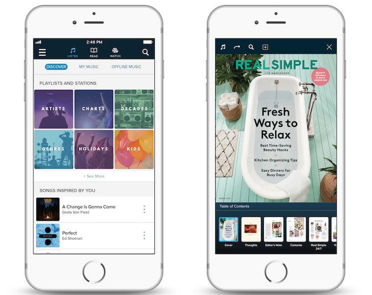 WEYV family music and media app | Sponsor