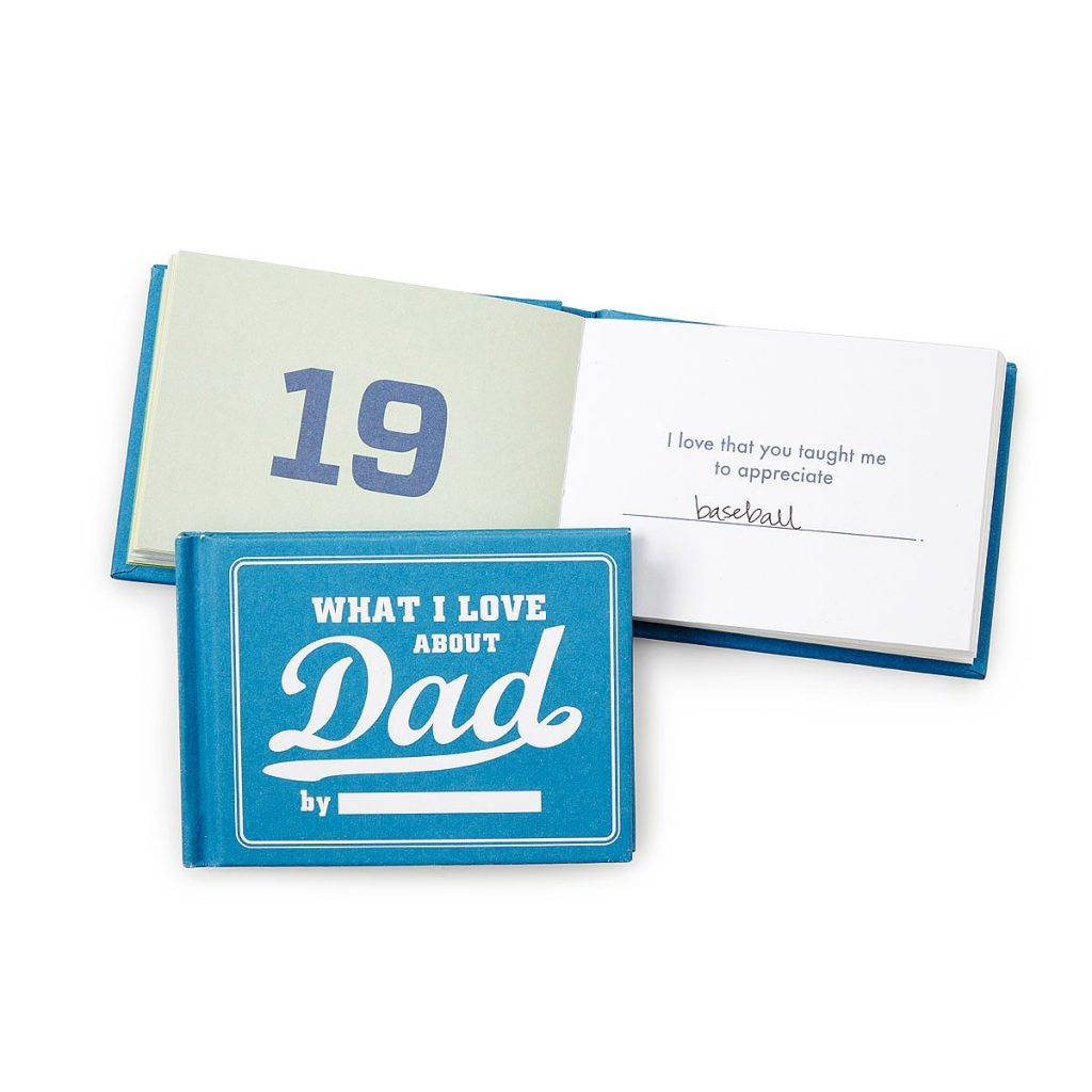 What I Love About Dad fill-in-the-blank book | Father's Day gifts under $20