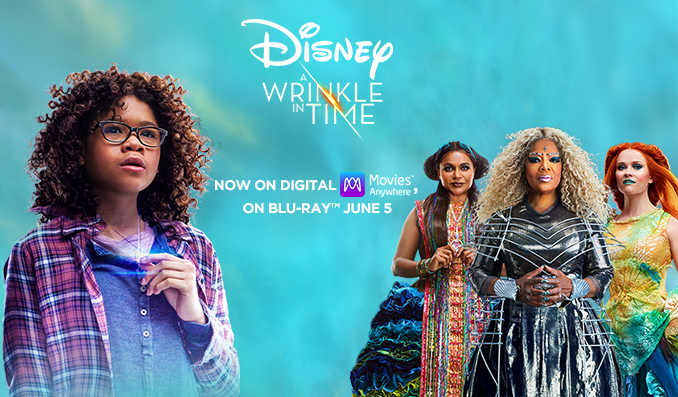 Disney's A Wrinkle in Time, now on Blu-Ray and Digital | sponsor