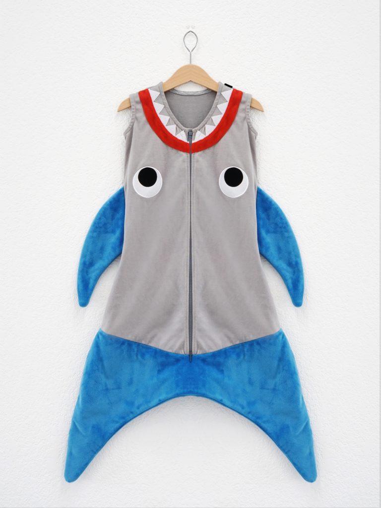 New Blankie Tails sleep sacks for babies look like sharks and mermaid tails