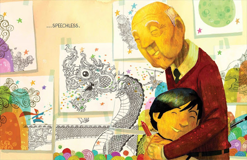 Best books for Father's Day: Drawn Together by Minh Lê and Dan Santat