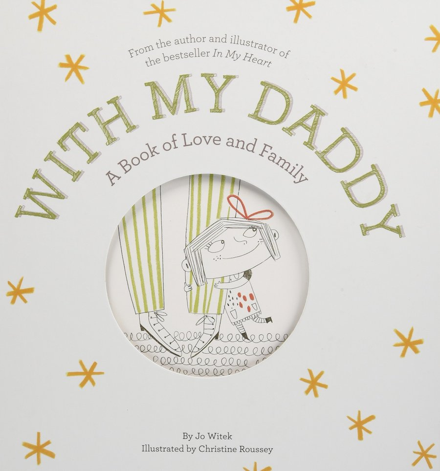 Books for Father's Day: With My Daddy by Jo Witek and Christine Roussey