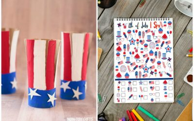 10 festive (but easy!) 4th of July crafts and activities for kids of all ages