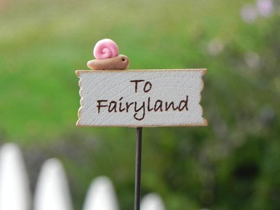 fairy garden sign | summer fairy garden | coolmompicks