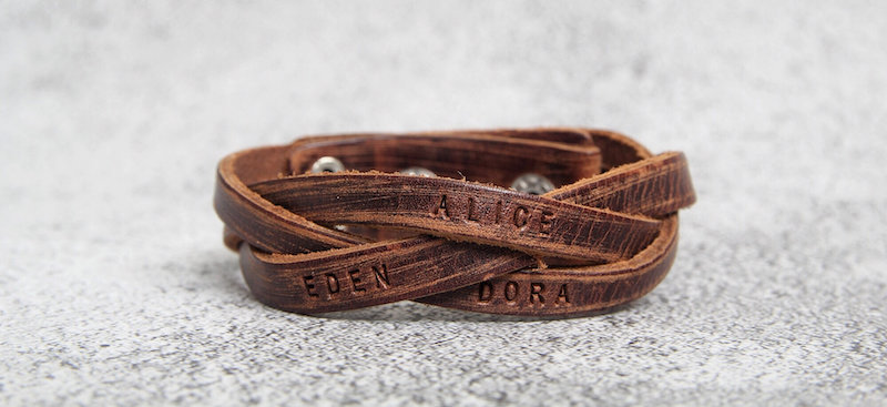 Best Father's Day jewelry and accessories: Braided cuff at Alice & Bo