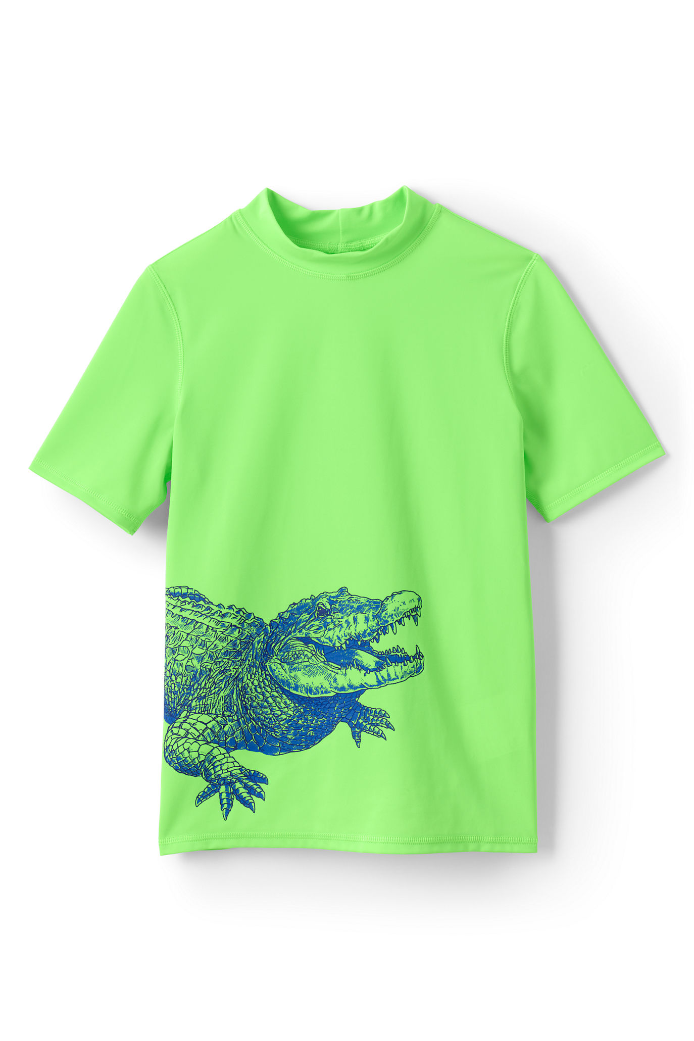 Rash guards with UPF: Gator rash guard | Land's End
