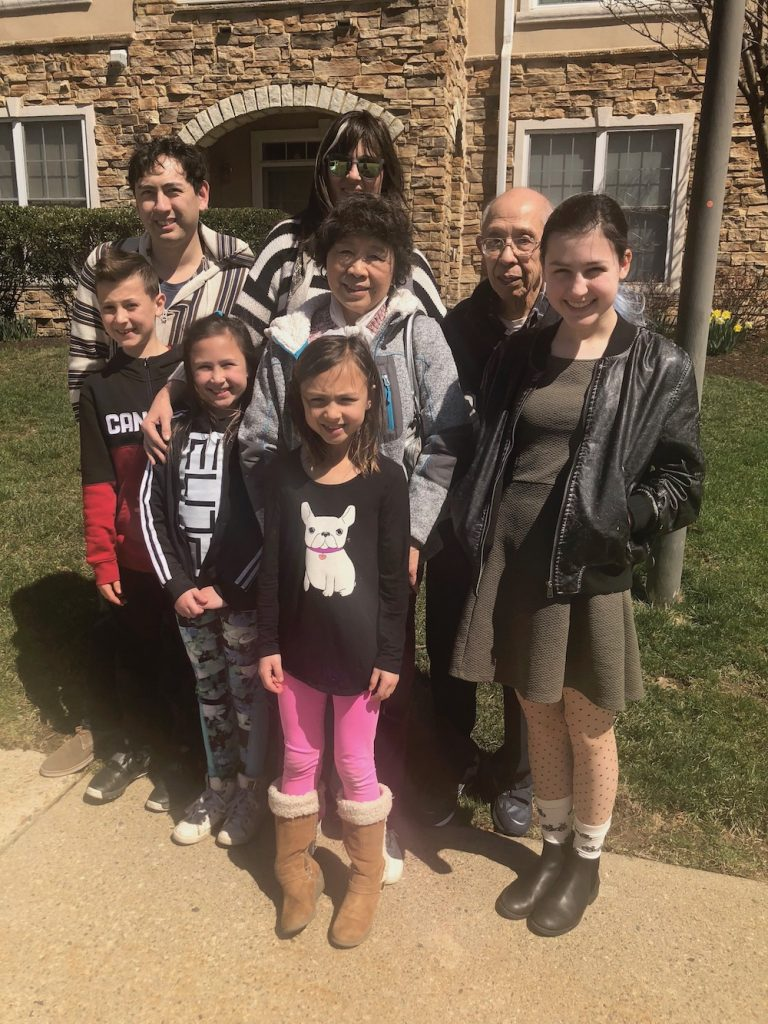 Stories of the immigrant experience from parent bloggers + writers: Kristen Chase, publisher of Cool Mom Picks with her Chinese-American grandparents