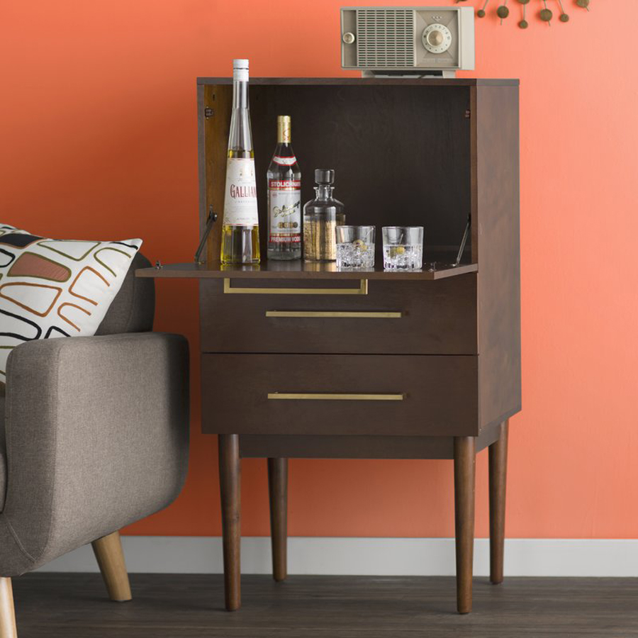 Stylish Father's Day Gifts for His Man Cave: Bar Cabinet