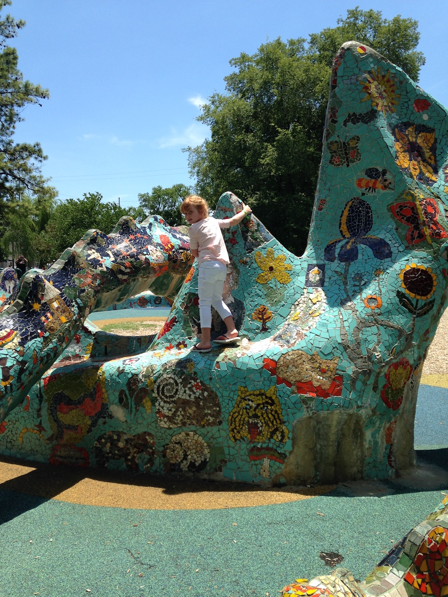 Things to do in Nashville with kids: Visit Fanny Mae Dees Park | Photo (c) Kate Etue for Cool Mom Picks