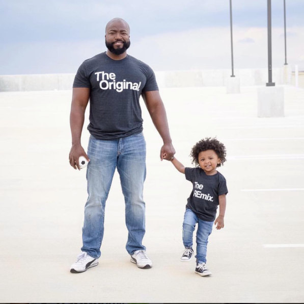 Daddy and me tees: Remix daddy and me tees | KaAns Designs