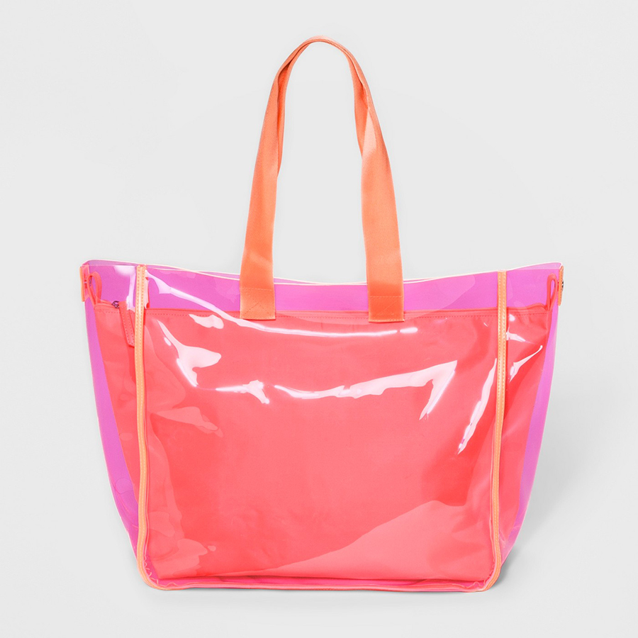 Summer Beach Totes Under $50: Mossimo Jelly Tote Bag from Target