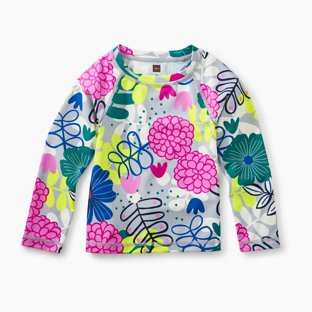 Rash guards with UPF: Bouquet rash guard with UPF | Tea Collection