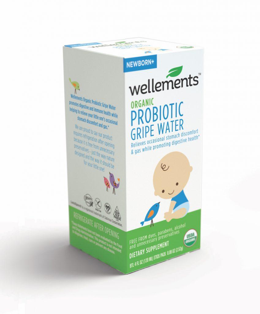 Wellements Organic Probiotics Gripe Water | sponsored