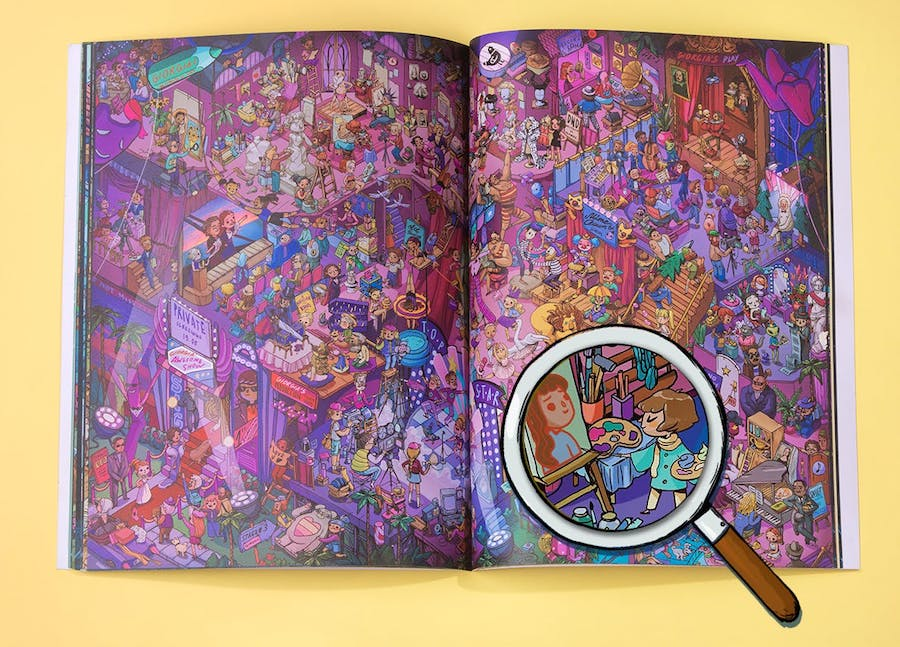 Find yourself in the new Where Are You...? books from Wonderbly