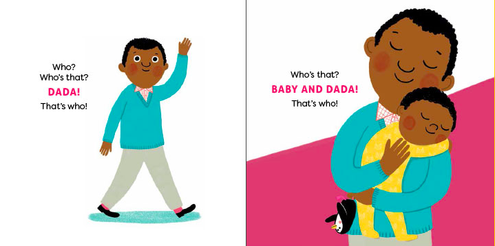 Who? A Celebration of Babies is a charming new board book by Robie H. Harris | sponsor