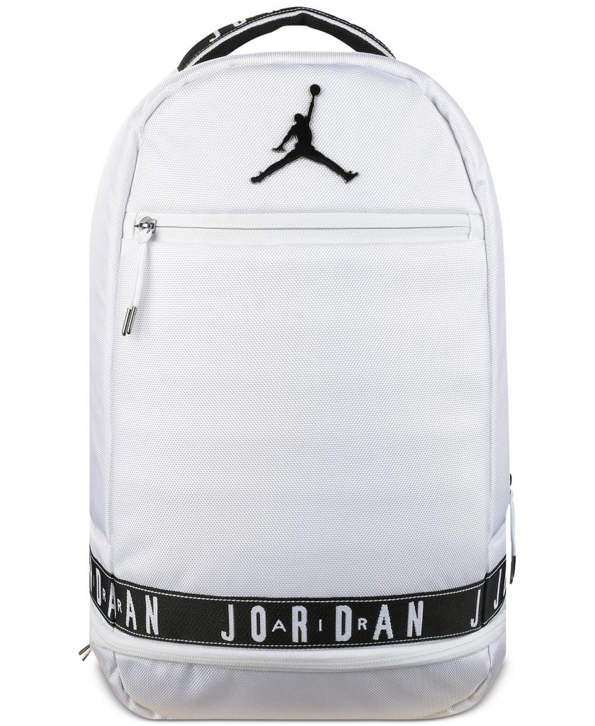 Cool backpacks for tweens and teens: Air Jordan backpack on sale