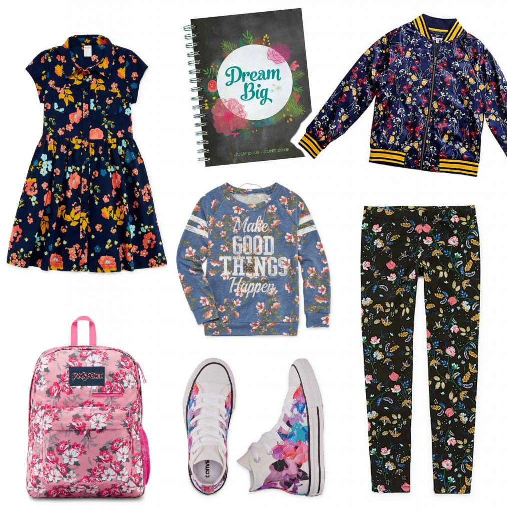 9cf2629820e4 Hot back-to-school fashion trends: Floral prints on everything! |  coolmompicks