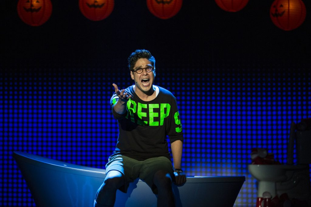 George Salazar in Be More Chill: Why this musical is such a cult hit