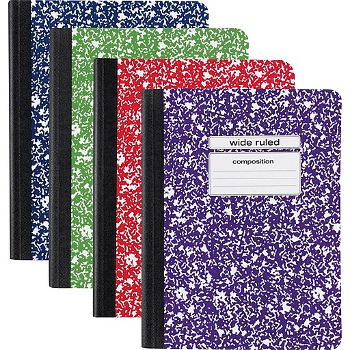 Best discounts on school supplies: Staples composition books