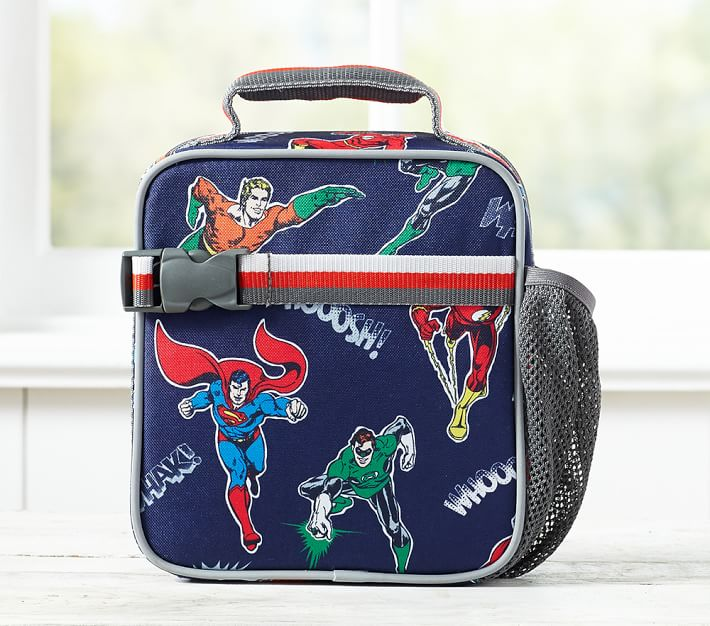 Best discounts on school supplies: Marvel lunch bags at Pottery Barn Kids