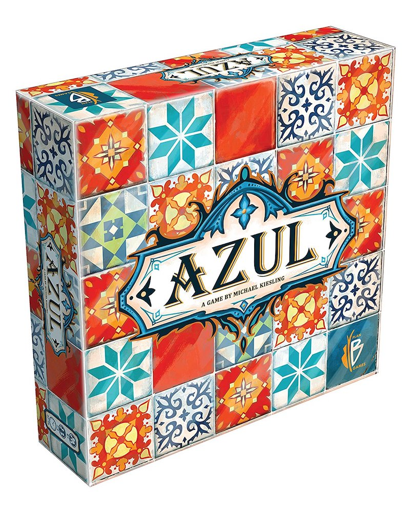 Board games that take 30 minutes or less: Azul