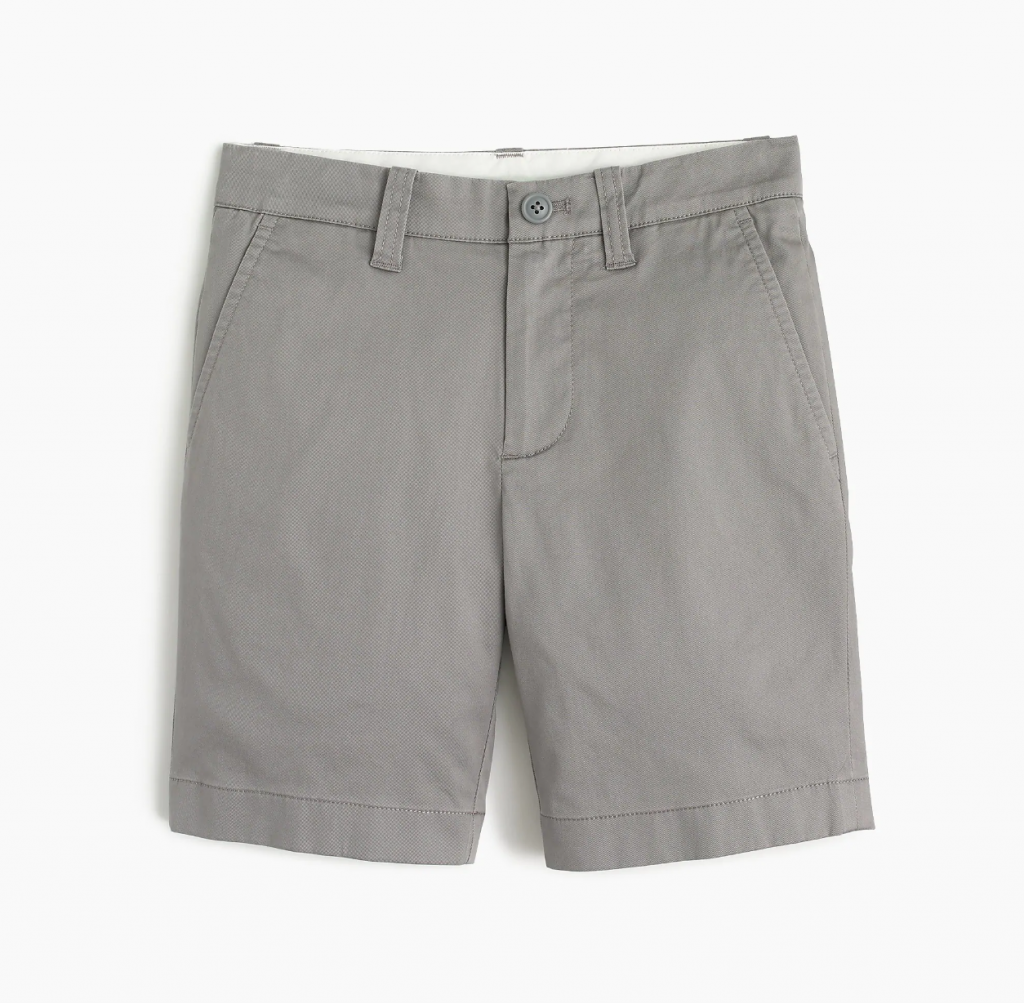 J Crew Boys Stretch Stanton Shorts in 10 colors on sale
