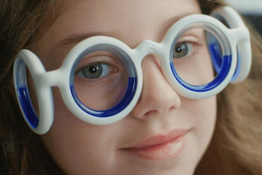 Could these crazy glasses be the cure for motion sickness? Here's hoping!