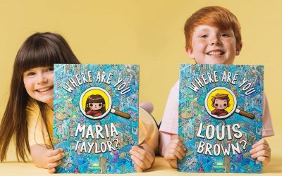 Forget Waldo, try finding your own kid in these cool custom seek-and-find books!