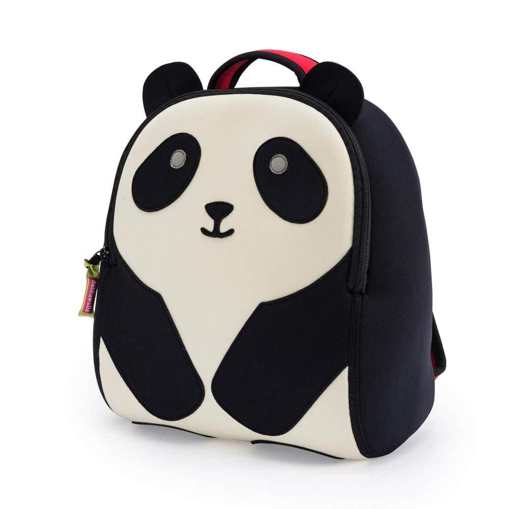 cool backpacks for preschool, kindergarten and little kids: Dabbawalla Panda Backpack in neoprene