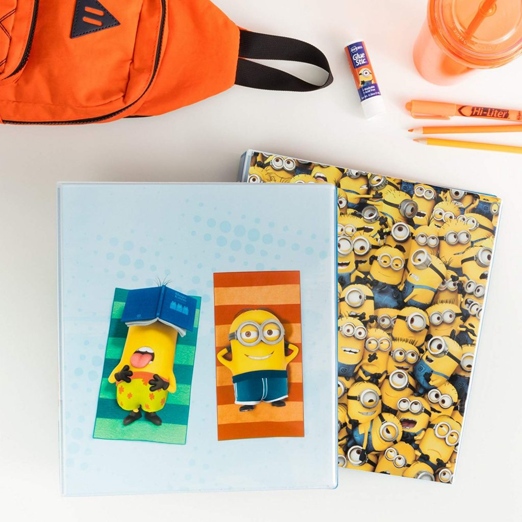 Avery Despicable Me Minions collection for back to school | Sponsor