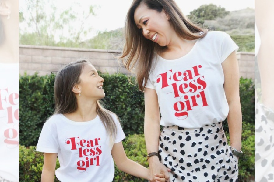 Gorgeous feminist shirts from a woman-owned company supporting causes we love? Trifecta!