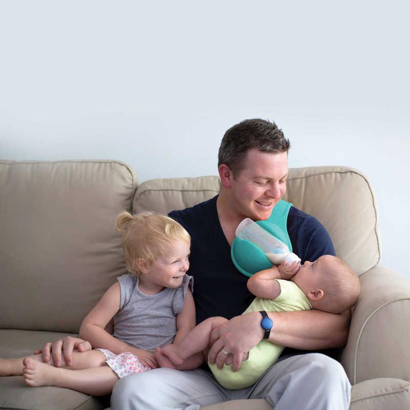 Best baby gear for twins: Beebo bottle holder