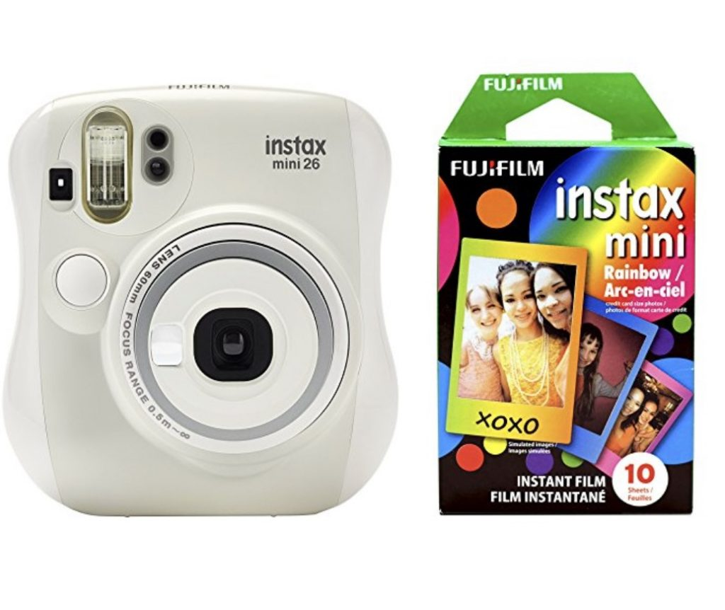 Instax Mini camera bundle with rainbow film : Favorite Amazon Prime Day deals