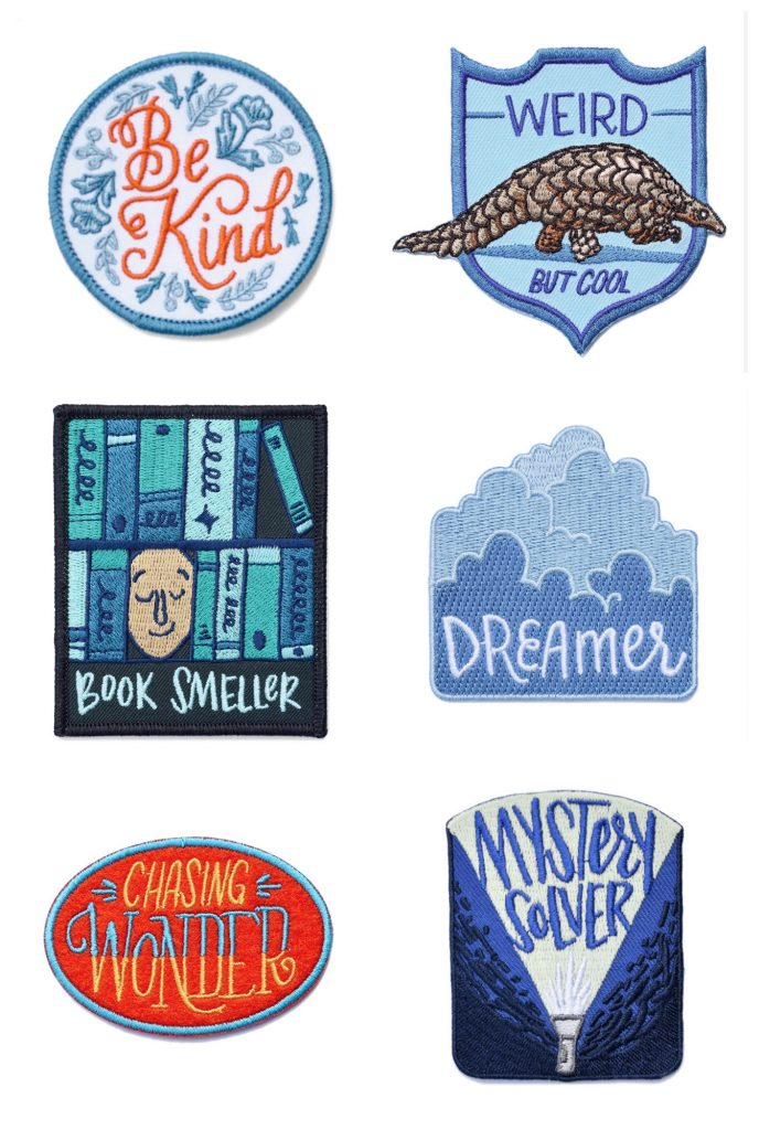 Cool iron-on patches for backpacks or jackets at Mabel's Labels | Fun back to school supplies and accessories under $10