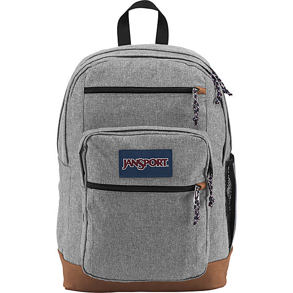 Cool backpacks for tweens, teens and older kids: Jansport Cool Student Backpack in heather grey