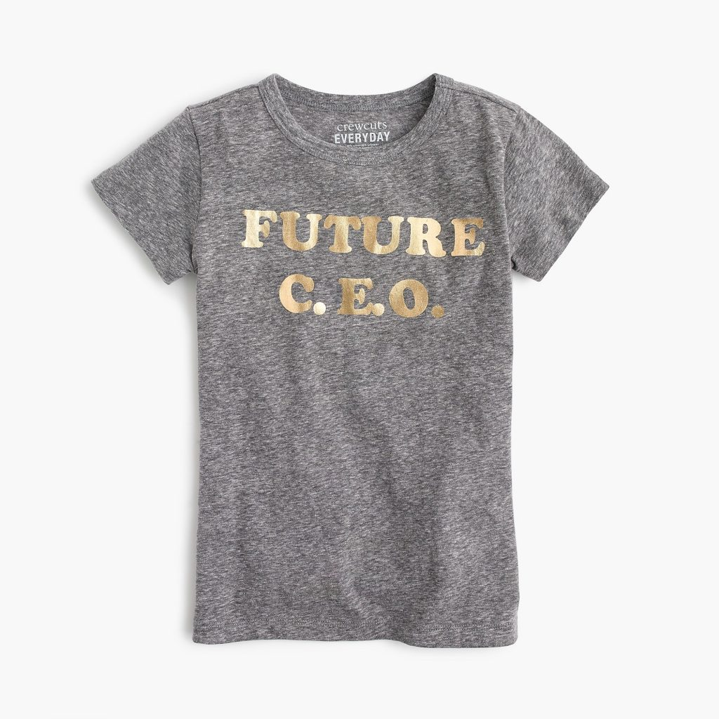 J Crew future CEO girls tee on sale
