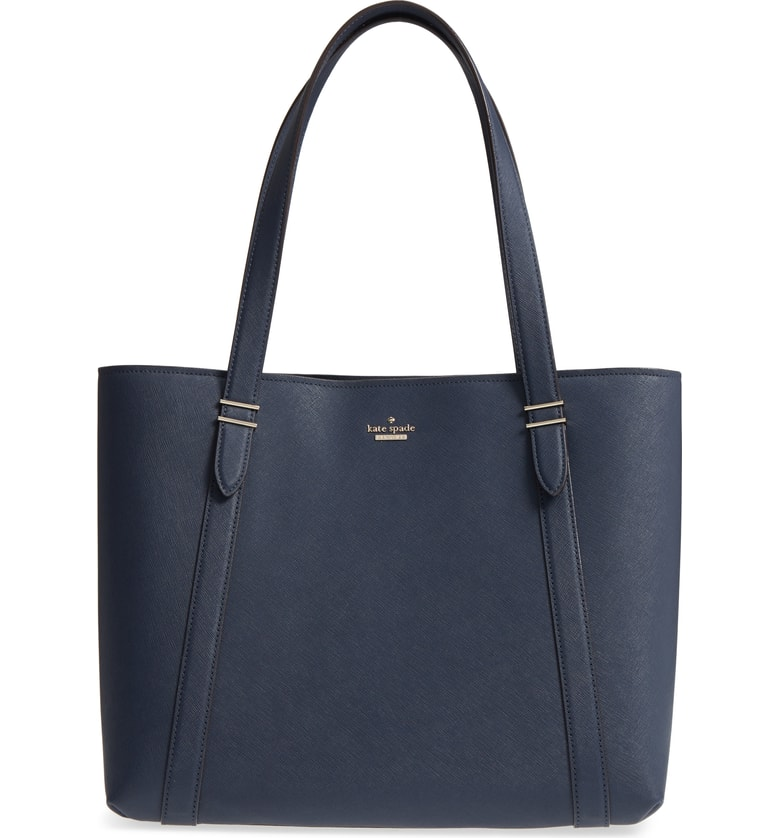 On sale at Nordstrom: Kate Spade Oakwood Street Chandra Tote in Navy | cool mom picks