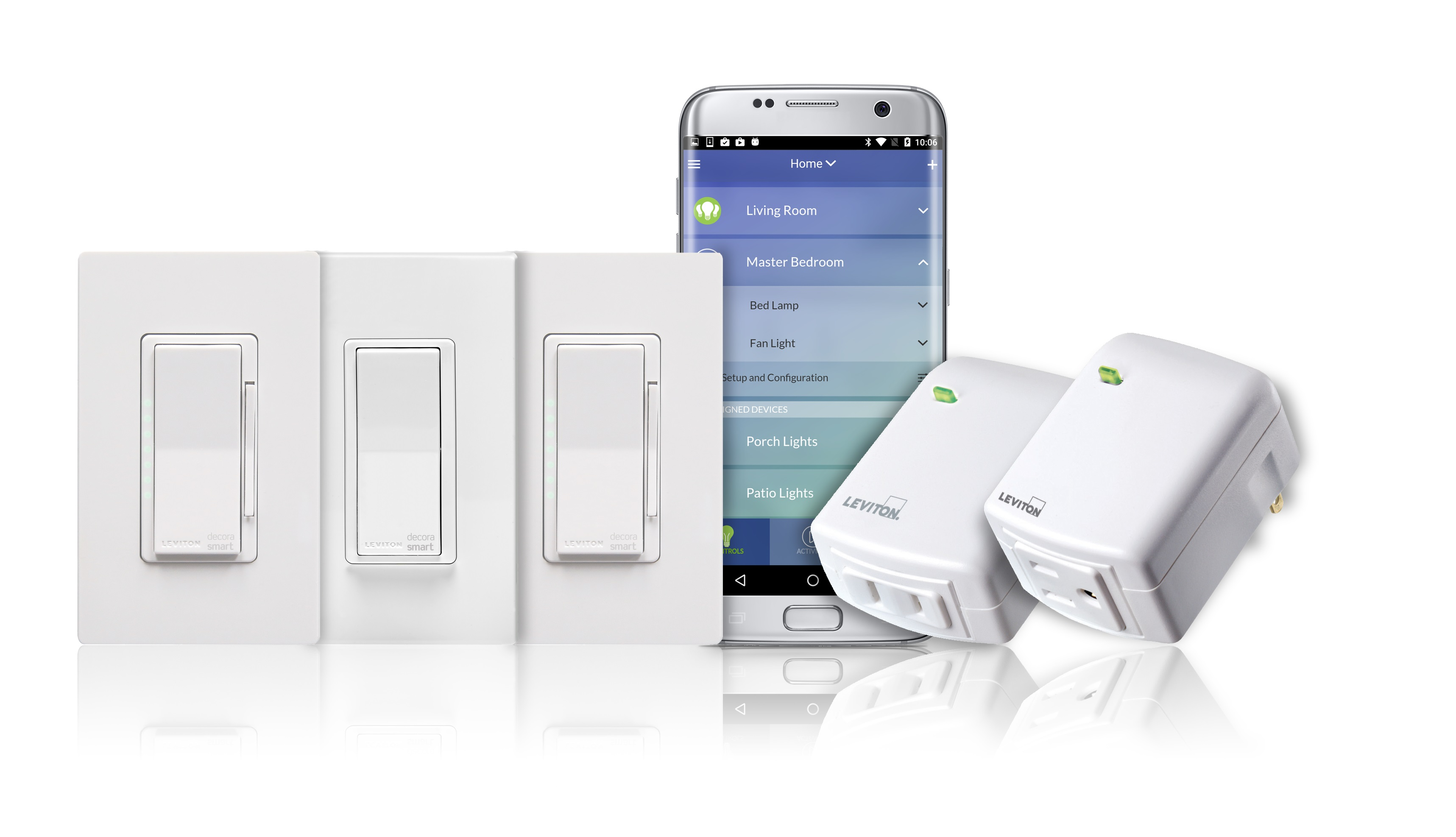 Leviton Decora Smart smart plugs and dimmers | Sponsor