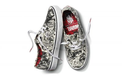Let's hear it for the girls with these new Marvel Vans
