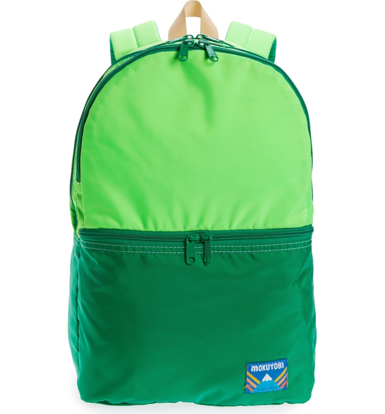 Cool backpacks for tweens and teens: Mokuyobi Nilson Nylon Two-Toned Backpacks