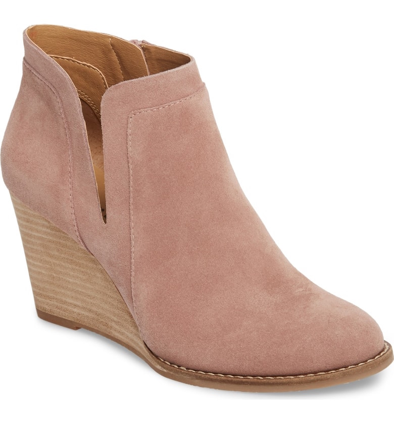 Nordstrom anniversary sale: Lucky Yabba Wedge Bootie