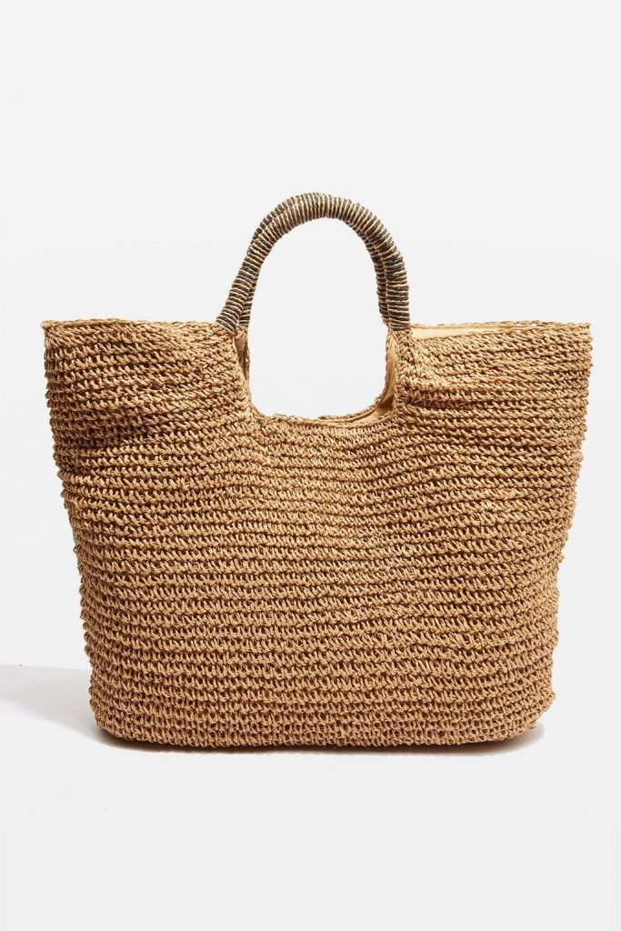 Straw tote from Topshop: Great totes under $50