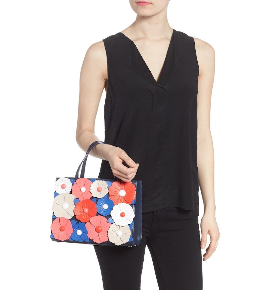 Best designer summer handbags on sale at Nordstrom: Kate Spade floral bag