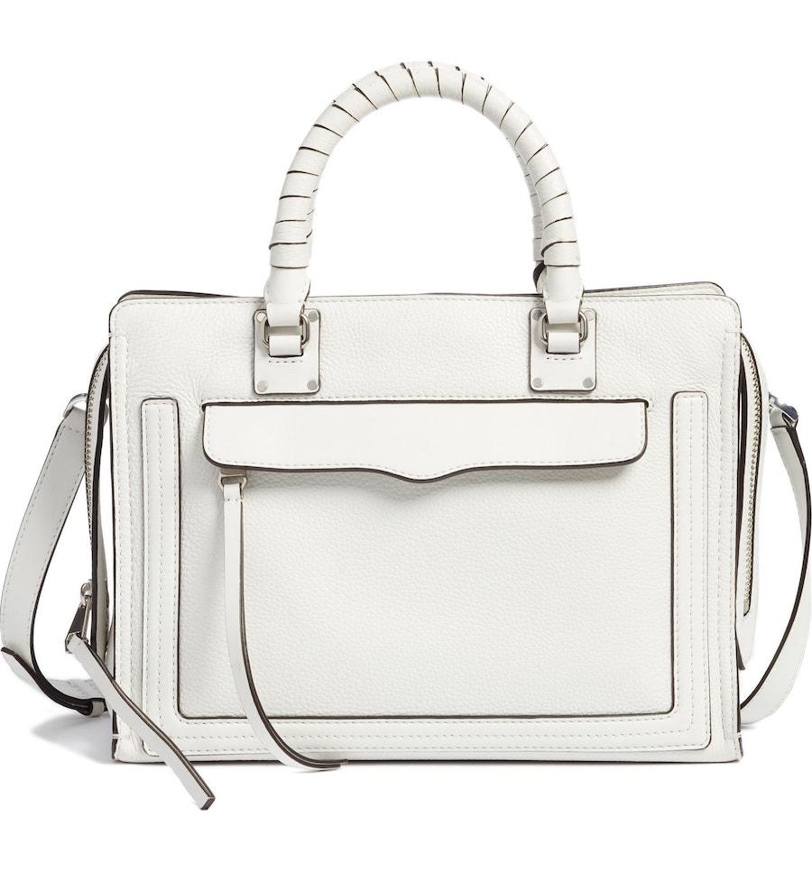 Best designer summer handbags on sale at Nordstrom: Rebecca Minkoff leather satchel